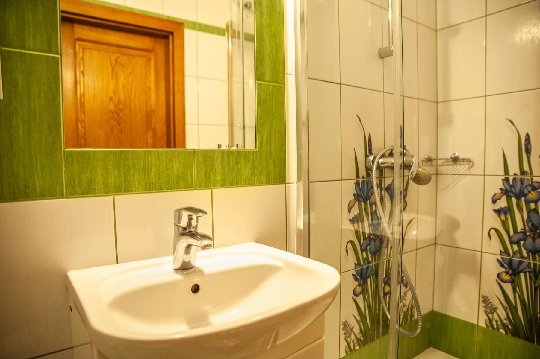 pokój dwuosobowy z łazienką kościelisko